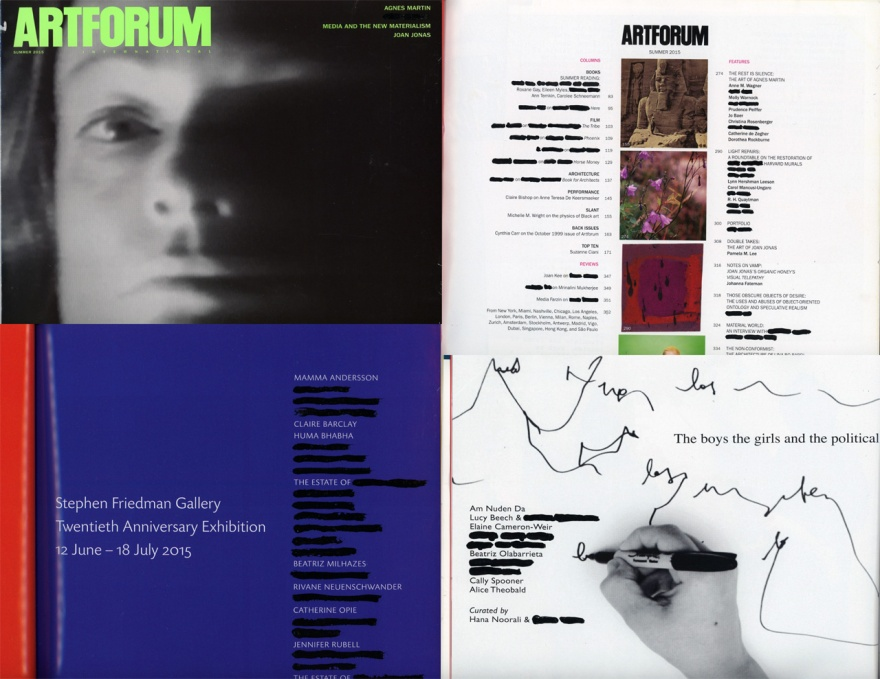 artforum quarter horizontal