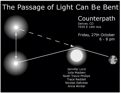 the passage of light can be bent flier 2