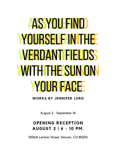 As you find yourself in the verdant fields with the sun on your face
